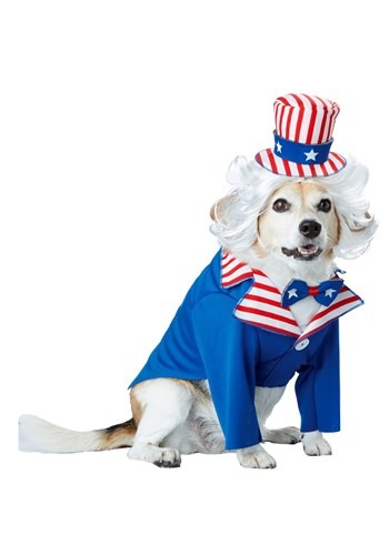 Pet Uncle Sam Costume