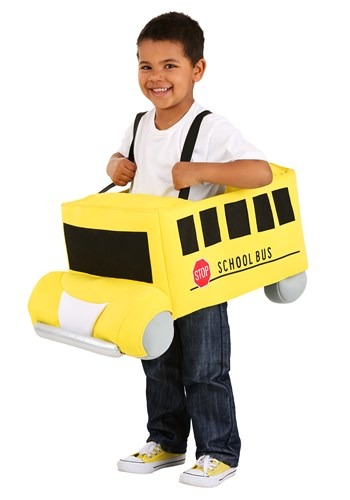 Click Here to buy Toddler Costume Ride in School Bus from HalloweenCostumes, CDN Funds & Shipping