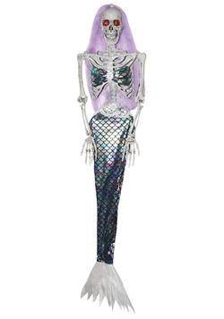 Animated Skeleton Mermaid Decoration