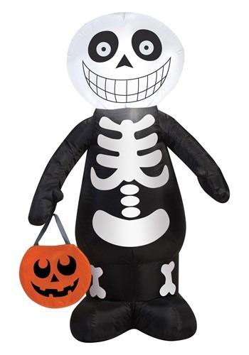 Airblown-Skeleton Boy Decoration