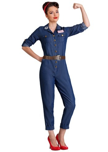 Plus Size Womens WWII Icon Costume