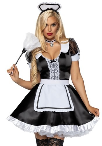 Classic French Maid Womens Costume