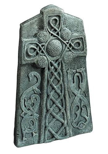 "Celtic Cross Tombstone 24"" Decoration"