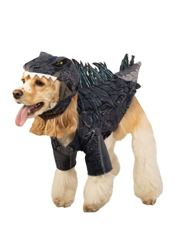 Click Here to buy Dog Godzilla Costume from HalloweenCostumes, CDN Funds & Shipping