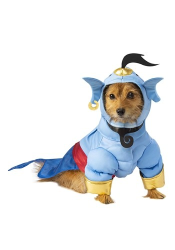 Click Here to buy Aladdin Dog Genie Costume from HalloweenCostumes, CDN Funds & Shipping