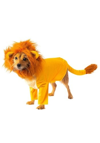 Click Here to buy Simba The Lion King Dog Costume from HalloweenCostumes, CDN Funds & Shipping