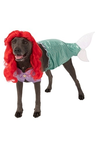 Plus Size The Little Mermaid Ariel Dog Costume