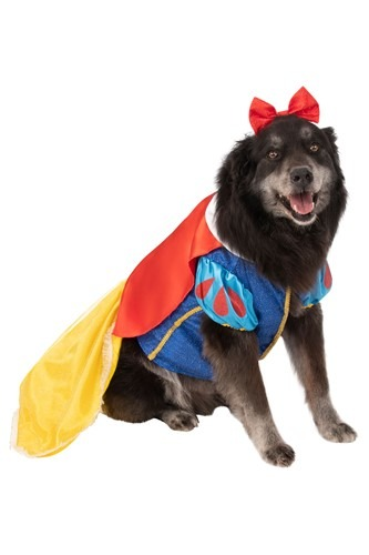 Plus Size Snow White Dog Costume