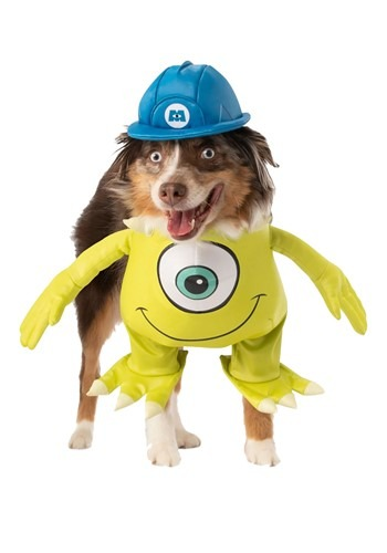 Click Here to buy Monsters, Inc. Mike Dog Costume from HalloweenCostumes, CDN Funds & Shipping