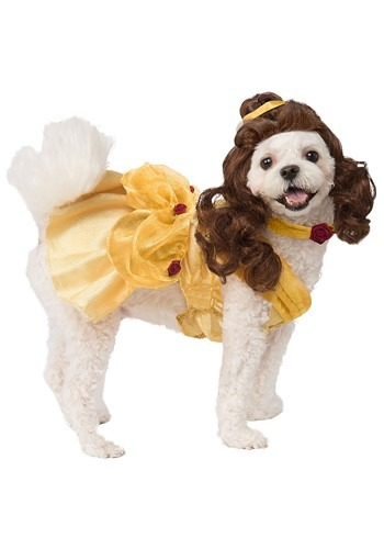 Click Here to buy Disney Beauty and the Beast Belle Dog Costume from HalloweenCostumes, CDN Funds & Shipping