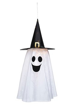 Fabric Light Up Witch Hat Ghost