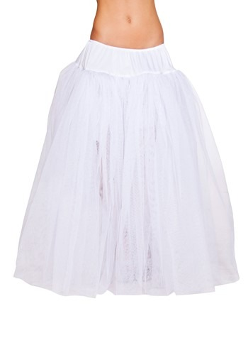 Long White Petticoat