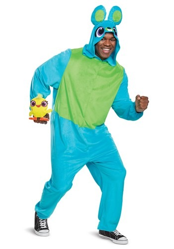 Toy Story Bunny Adult Jumpsuit Costume