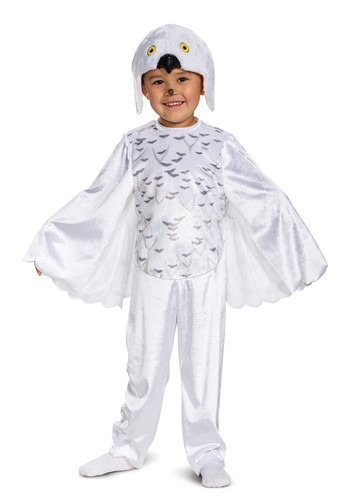 Click Here to buy Toddler Harry Potter Hedwig Costume from HalloweenCostumes, CDN Funds & Shipping