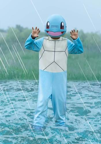 Click Here to buy Pokemon Classic Squirtle Kids  Costume from HalloweenCostumes, CDN Funds & Shipping