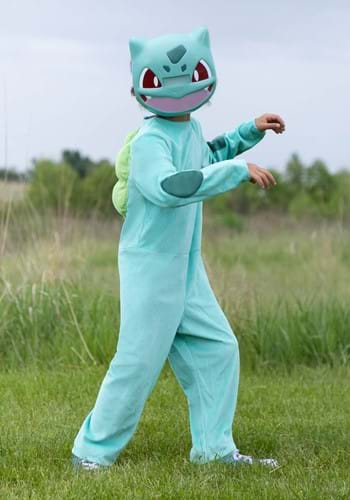 Click Here to buy Pokemon Classic Bulbasaur Kids  Costume from HalloweenCostumes, CDN Funds & Shipping
