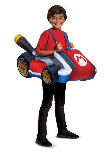 Mario Kart Inflatbale Kart Child Size Costume