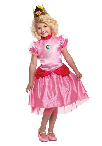 Super Mario Toddler Classic Princess Peach Costume