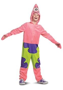 Child Squarepants Deluxe Patrick Costume
