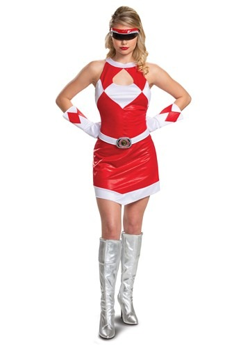 Women's Power Rangers Deluxe Red Ranger Costume