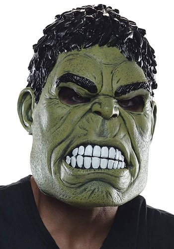 Click Here to buy Avengers Endgame Hulk Deluxe Mask from HalloweenCostumes, CDN Funds & Shipping