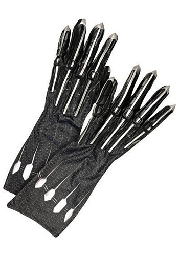 Click Here to buy Black Panther Avengers Endgame Adult Deluxe Gloves from HalloweenCostumes, CDN Funds & Shipping