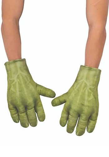 Click Here to buy Avengers Endgame Hulk Kid Gloves from HalloweenCostumes, CDN Funds & Shipping