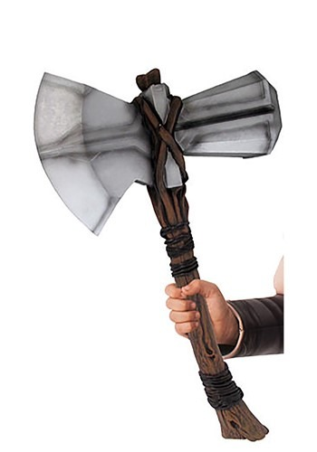 Click Here to buy Thor Avengers Endgame Stormbreaker Hammer from HalloweenCostumes, CDN Funds & Shipping