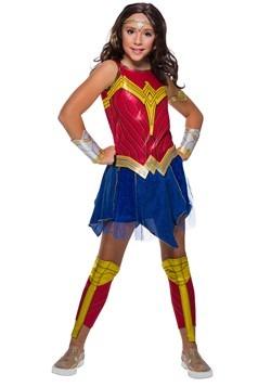 Wonder Woman Deluxe Girls Costume
