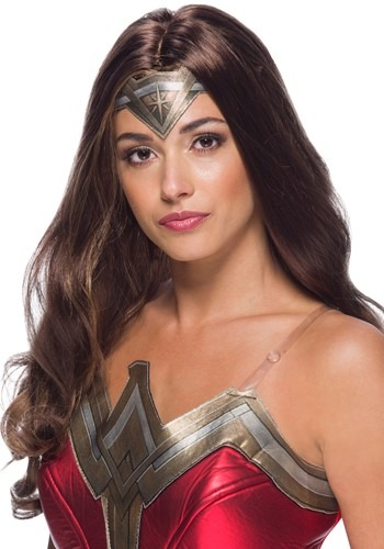 Click Here to buy Adult Wonder Woman Wig from HalloweenCostumes, CDN Funds & Shipping