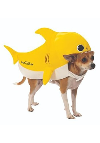 Click Here to buy Dog Baby Shark Costume from HalloweenCostumes, CDN Funds & Shipping