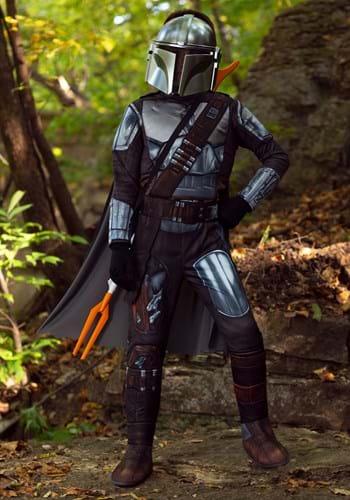 Mandalorian Beskar Armor Child Costume