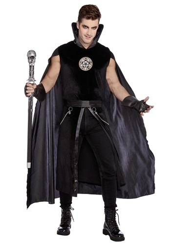 Click Here to buy Sexy Prince of Darkness Mens Costume from HalloweenCostumes, CDN Funds & Shipping