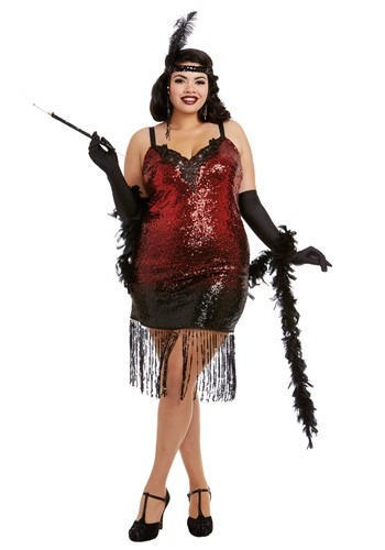 Click Here to buy Sexy Womens Roxys Revenge Plus Size Costume from HalloweenCostumes, CDN Funds & Shipping