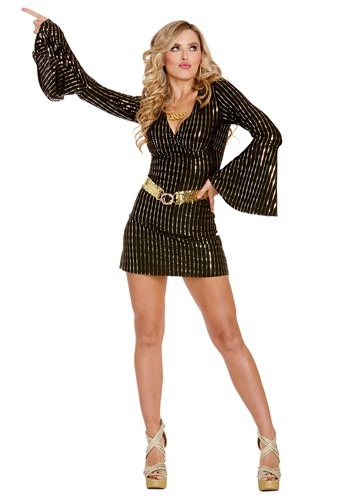 Sexy Womens Disco Babe Costume