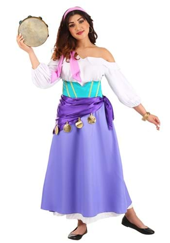 Click Here to buy Womens Hunchback of Notre Dame Esmeralda Costume from HalloweenCostumes, CDN Funds & Shipping