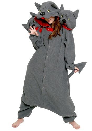 Click Here to buy Adult Kigurumi Costume Cerberus from HalloweenCostumes, CDN Funds & Shipping