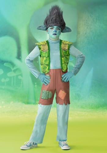 Boys Trolls World Tour Deluxe Branch Costume