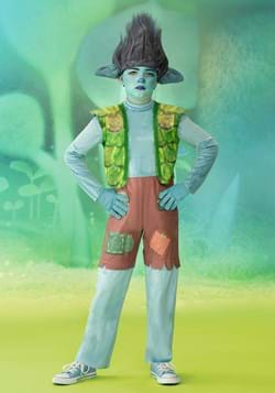 Trolls World Tour Boy's Deluxe Branch Costume