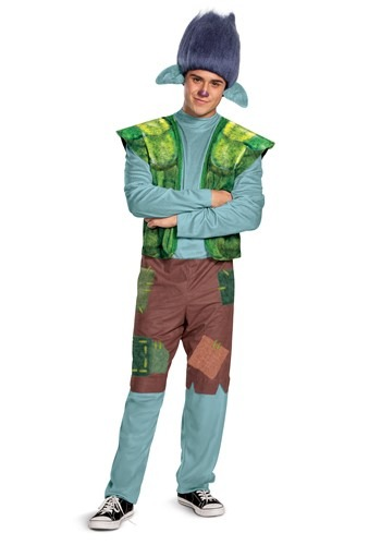 Mens Trolls World Tour Branch Costume
