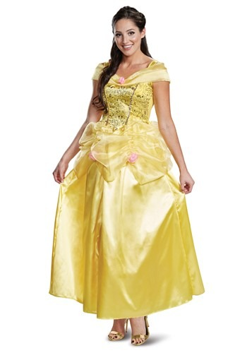 Adult Beauty & The Beast Deluxe Classic Belle Costume