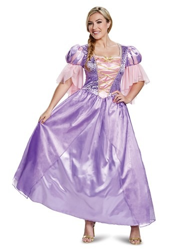 Adult Tangled Deluxe Rapunzel Costume
