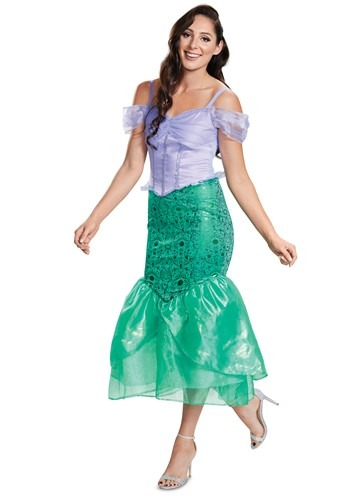 Adult The Little Mermaid Deluxe Ariel Costume