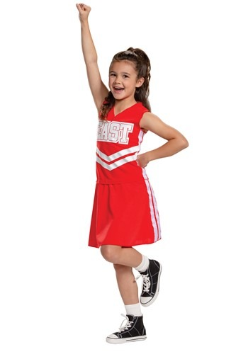 Click Here to buy Girls High School Musical Cheerleader Costume from HalloweenCostumes, CDN Funds & Shipping