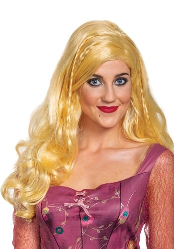 Click Here to buy Adult Hocus Pocus Deluxe Sarah Wig from HalloweenCostumes, CDN Funds & Shipping