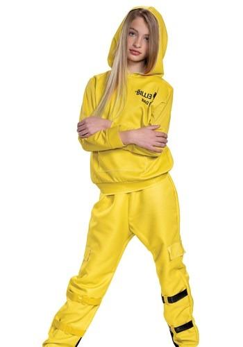 Billie Eilish Kids Classic Yellow Costume
