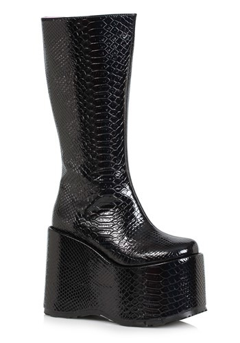 Womens Monster Black Boots