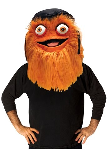 Gritty Mascot Head