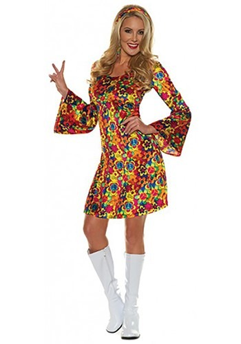 Women's Flower Child Costume