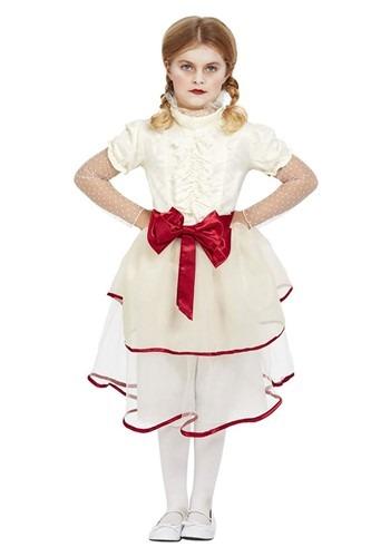 Girl's Creepy Doll Costume